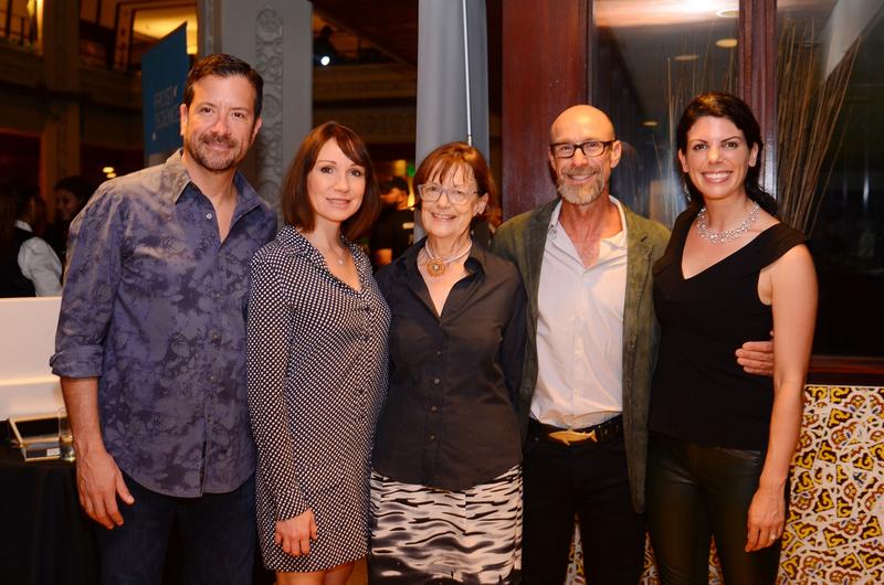 Sergio Akselrad, Julee Akselrad, Gillian Thomas, Kenny Broad and Rachel Silverstein
